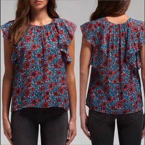 Rebecca Taylor floral Lindsay sleeveless top